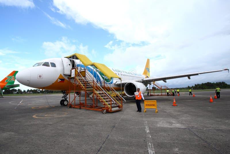 De Luchthaven van Kalibo royalty-vrije stock afbeeldingen