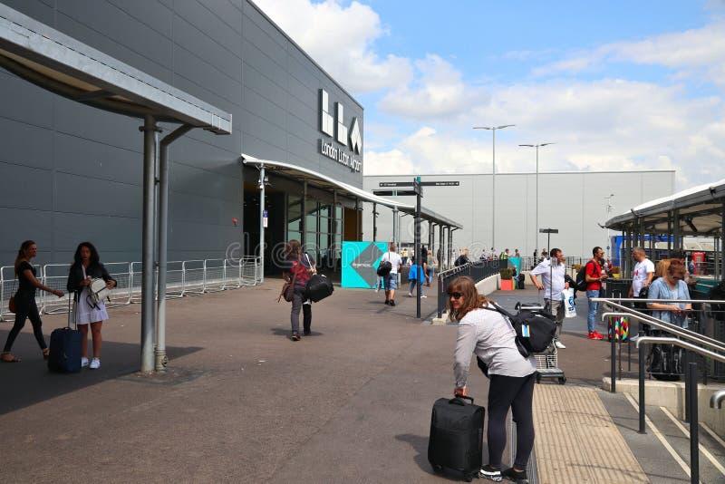 De Luchthaven van Londen Luton royalty-vrije stock fotografie