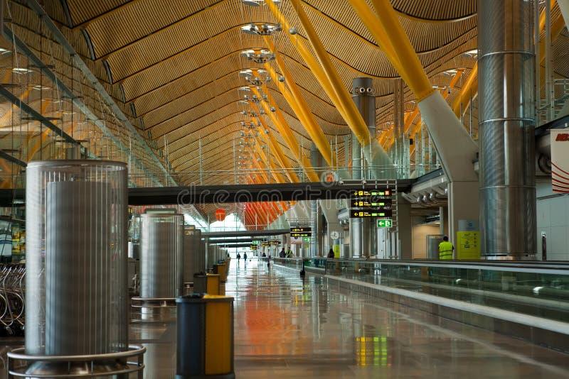De Luchthaven van Madrid Barajas royalty-vrije stock afbeelding