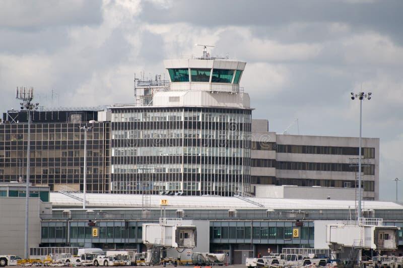 De Luchthaven van Manchester royalty-vrije stock foto