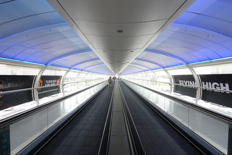 De Luchthaven van Manchester royalty-vrije stock foto's