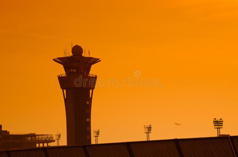 De luchthaven van Parijs, Orly stock afbeeldingen