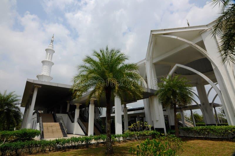 De Luchthaven van Sultan Ismail Airport Mosque - Senai- royalty-vrije stock foto