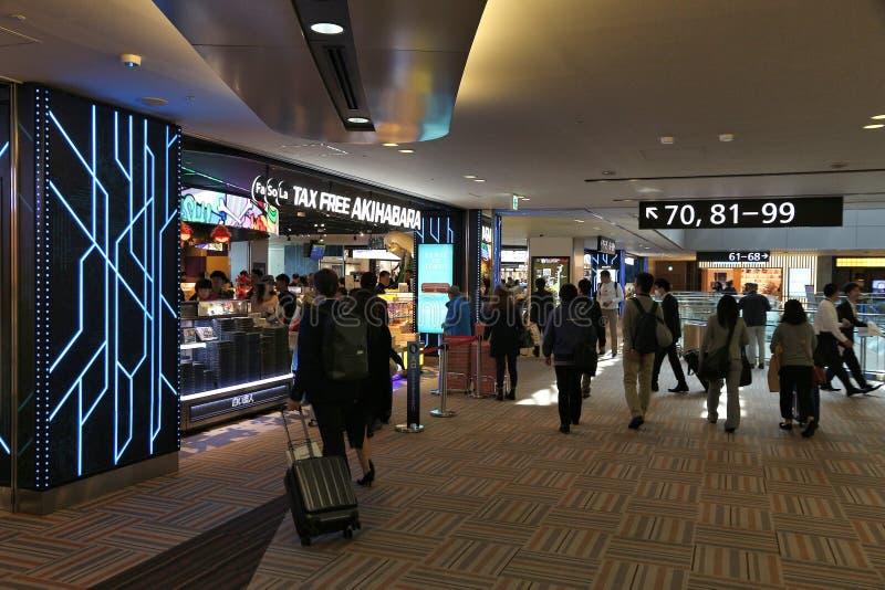 De Luchthaven van Tokyo stock afbeeldingen