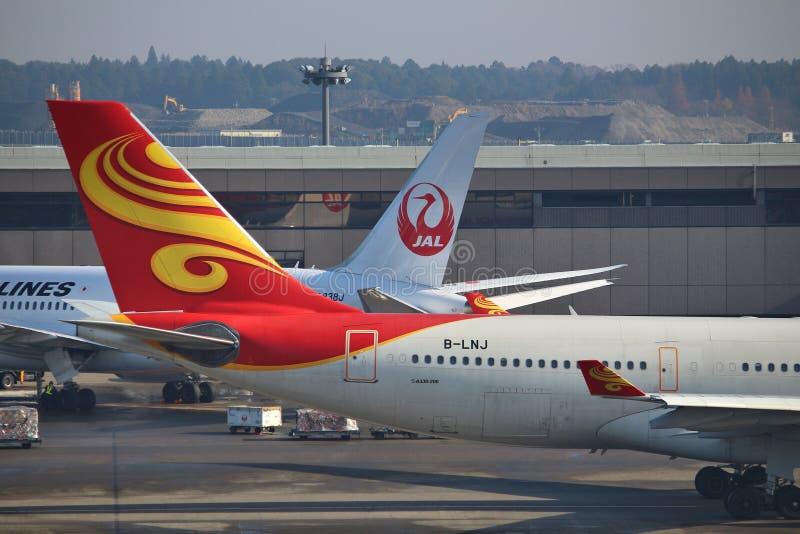 De Luchthaven van Tokyo Narita stock foto