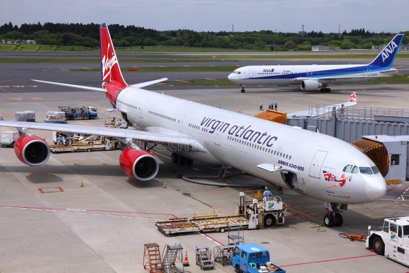 De Luchthaven van Tokyo Narita stock afbeelding