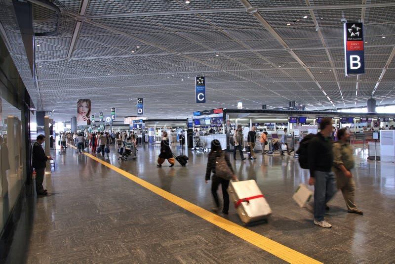 De Luchthaven van Tokyo Narita stock foto's