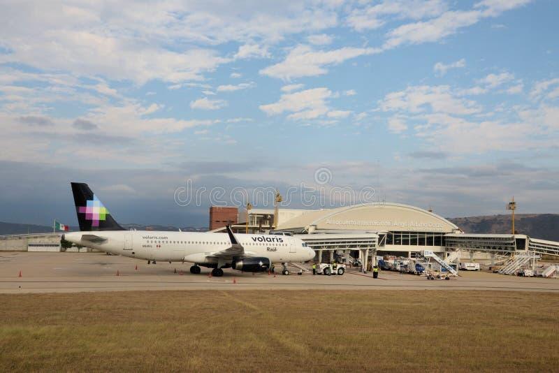 De Luchthaven van Tuxtlagutierrez royalty-vrije stock foto's