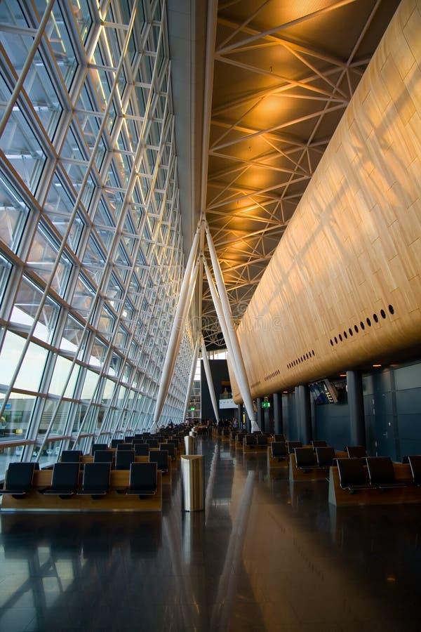 De Luchthaven van Zürich stock fotografie