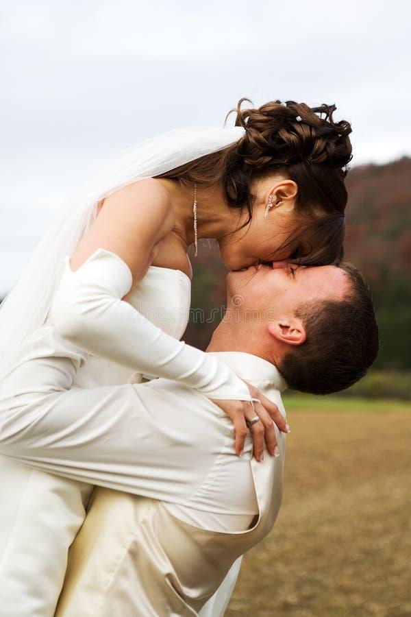 De luchtige bruid stock foto