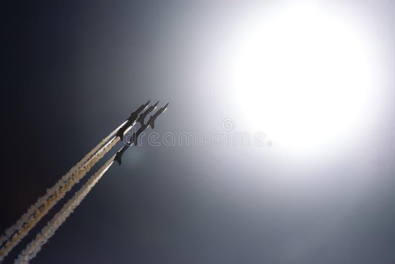 De Luchtmacht Thunderbirds van de V.S. stock afbeelding