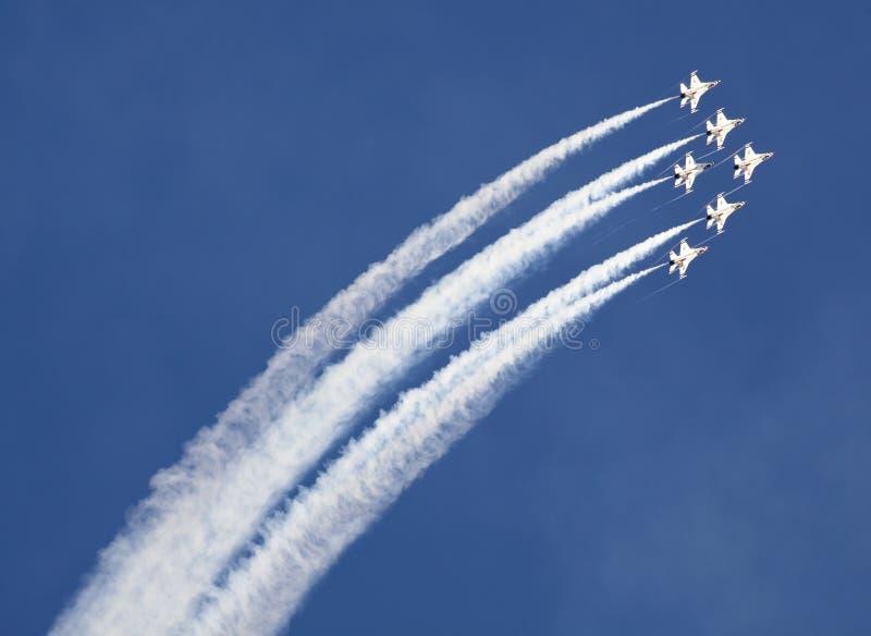 De Luchtmacht van de V.S. Thunderbirds