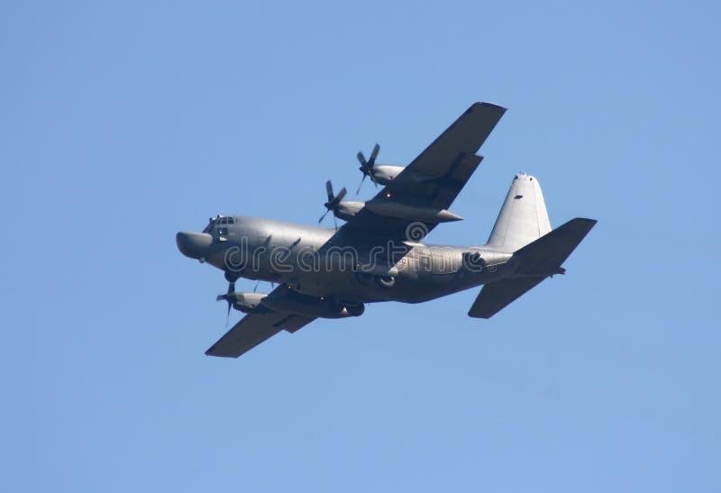 De Luchtmacht van Verenigde Staten Lockheed mc-130H Hercules stock afbeelding
