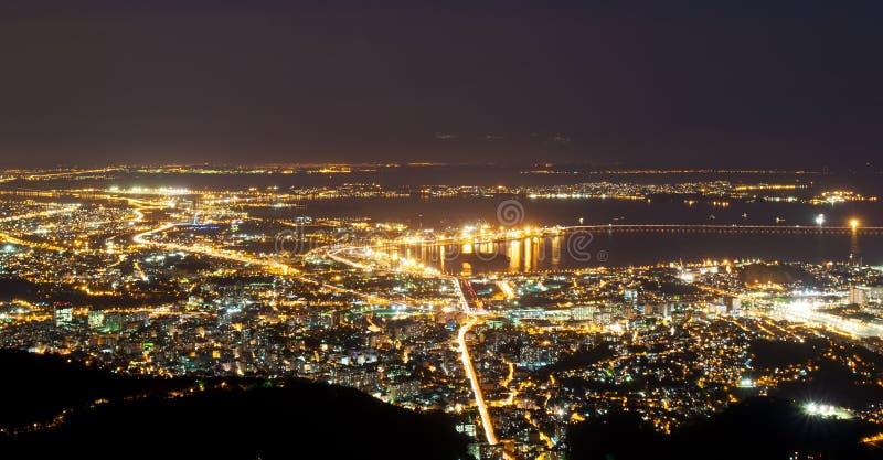 Lucht mening van Rio de Janeiro stock afbeelding
