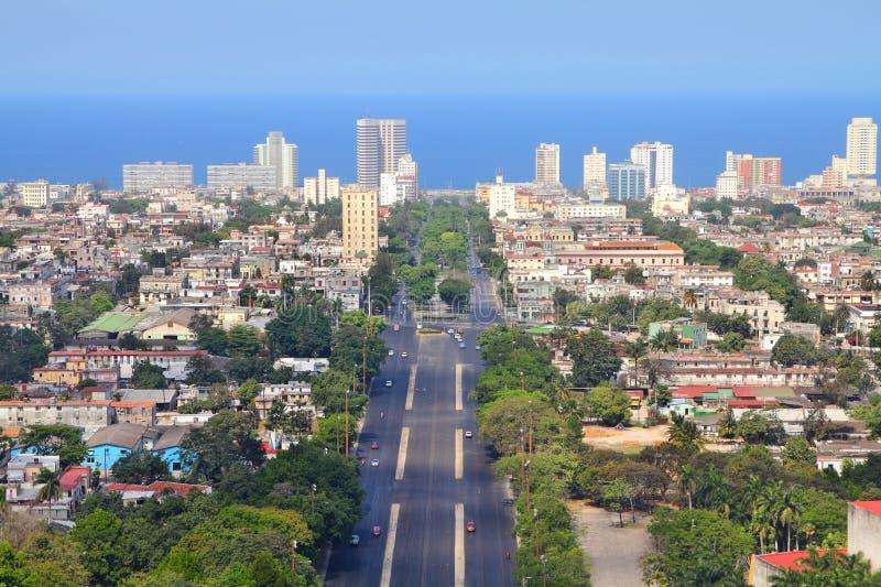 De luchtmening van Havana royalty-vrije stock afbeeldingen