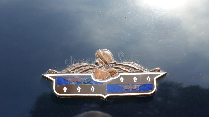 De lujo el emblema de Desoto aparcamiento en San Isidro, Lima imagen de archivo