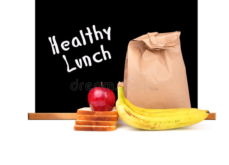 De lunch van Helathy stock foto's