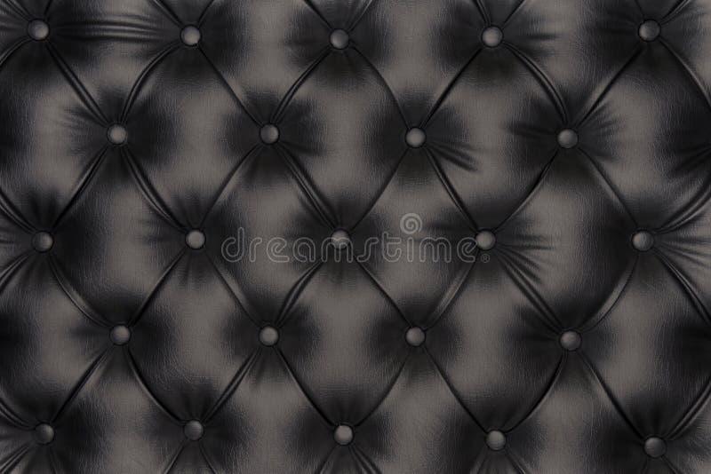 De luxueuze textuur van het zwart-toonleer royalty-vrije stock afbeelding