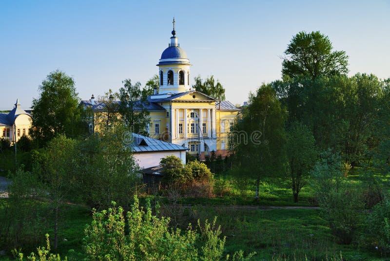 De maagdelijke Kathedraal van de Geboorte van Christus in Vologda royalty-vrije stock afbeelding