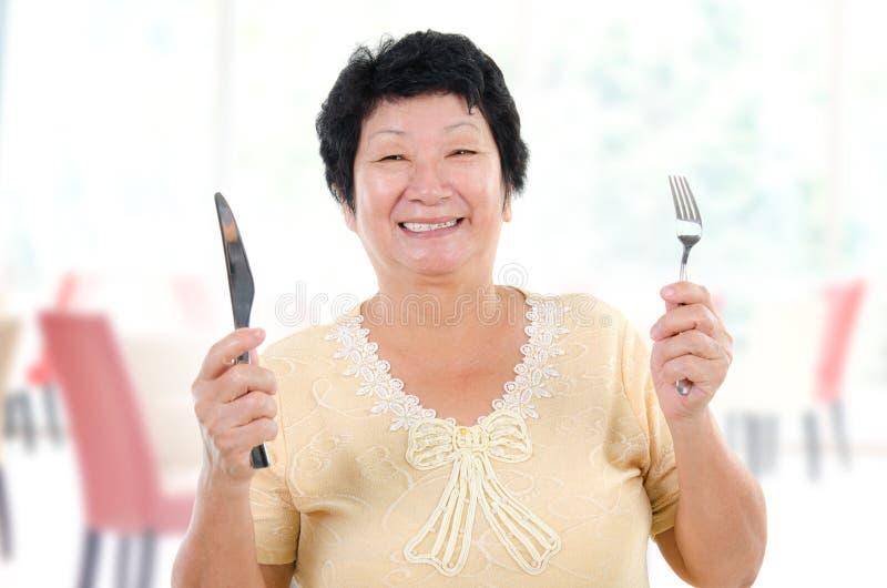 De maaltijd van de moederdag royalty-vrije stock fotografie