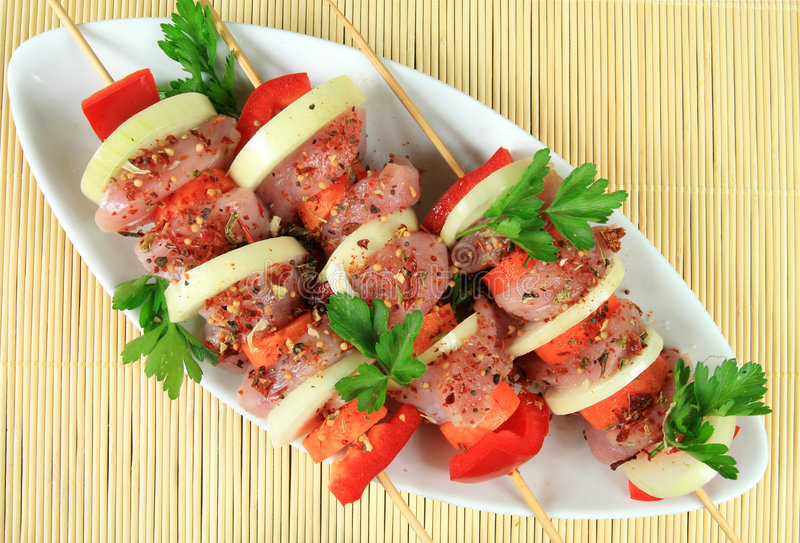 De maaltijd van het vlees royalty-vrije stock foto's