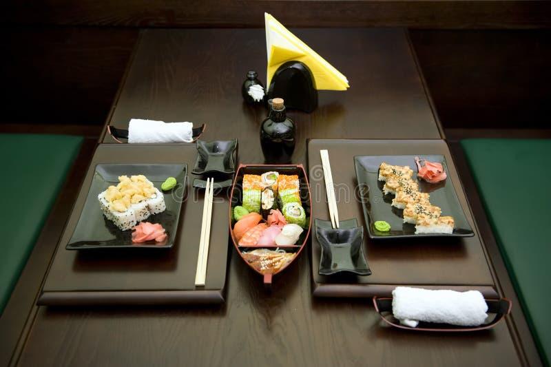 De maaltijd van Japan stock afbeelding