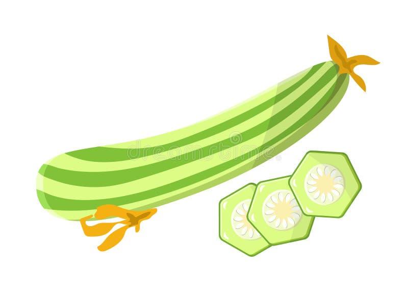 De Maaltijd Vectorillustratie van het merg Vegetarische Voedsel stock illustratie