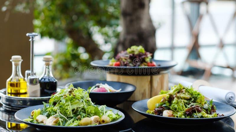 De maaltijdontvangst van het banketrestaurant het gezonde eten royalty-vrije stock foto's