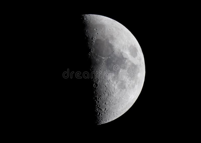 De maan royalty-vrije stock fotografie
