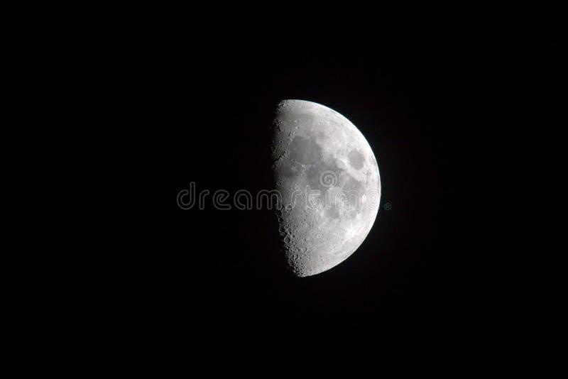 De Maan van de aarde stock afbeelding