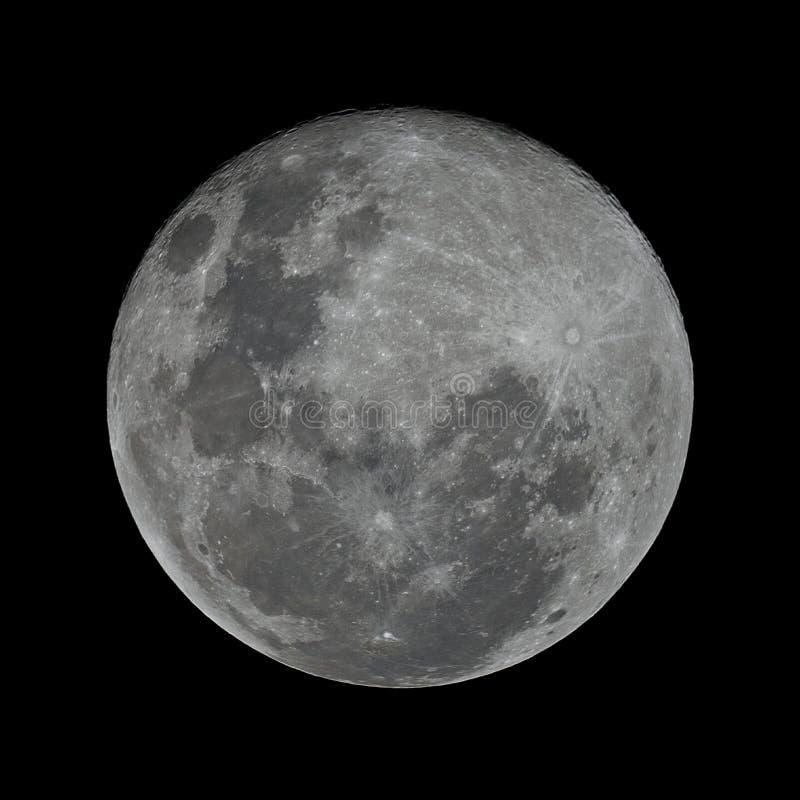De Maan van de oogst stock foto