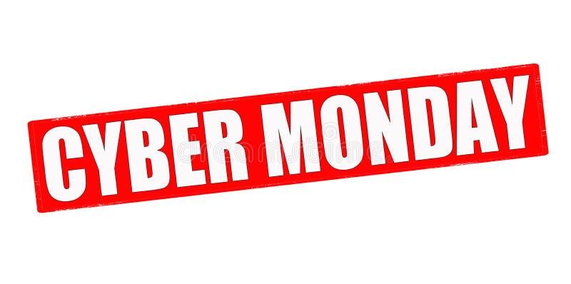 De Maandag van Cyber royalty-vrije stock afbeeldingen