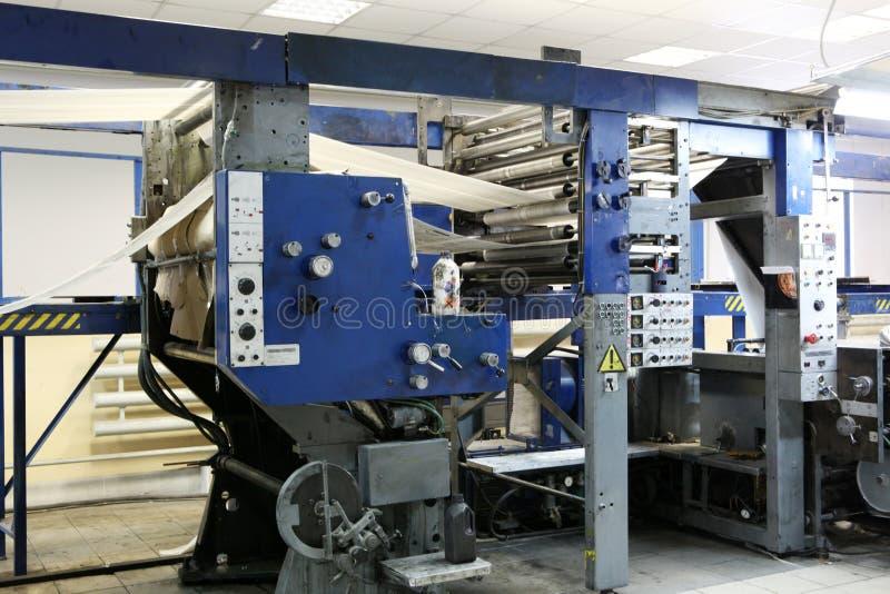 De machine van af:drukken stock fotografie