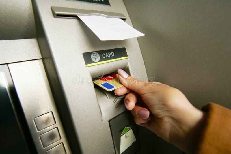 De machine van ATM royalty-vrije stock foto's