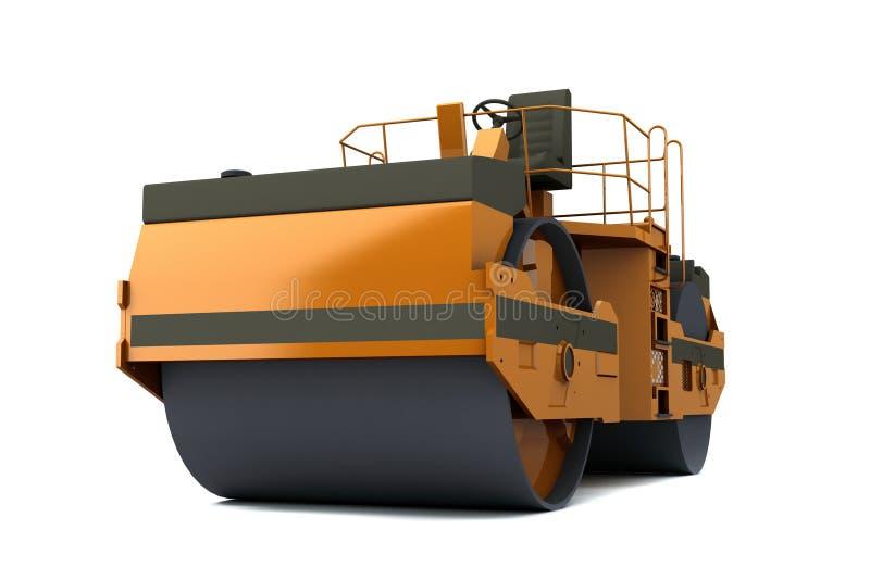De machine van de betonmolen stock illustratie