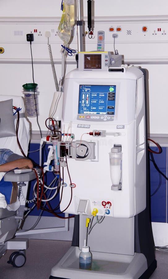De machine van de dialyse royalty-vrije stock afbeeldingen