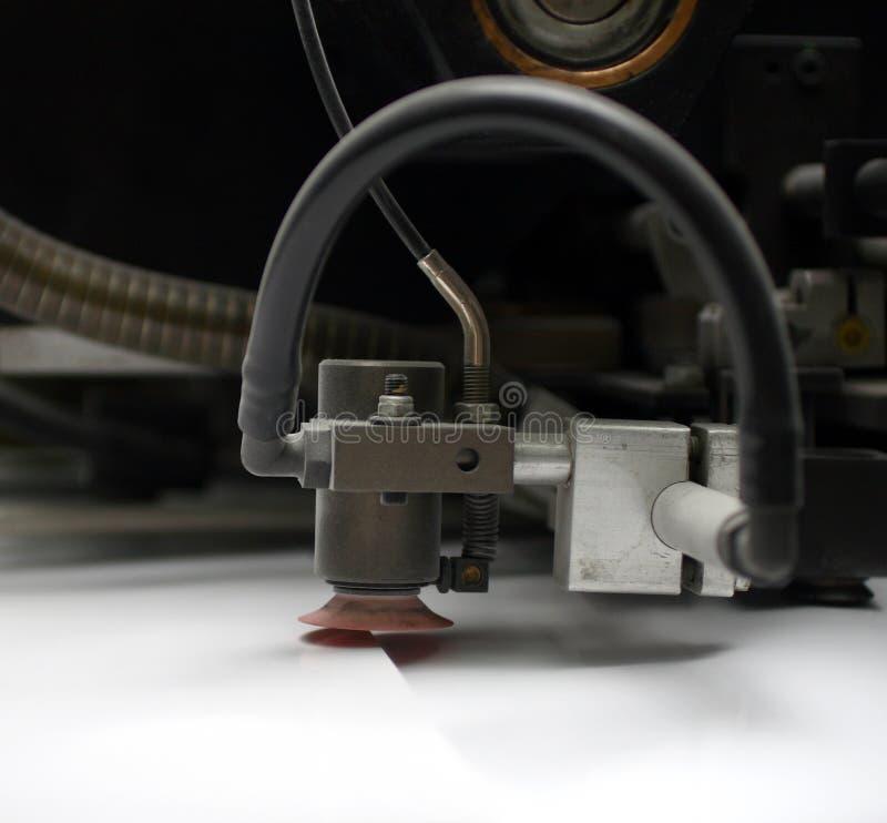 De Machine van de druk stock foto's
