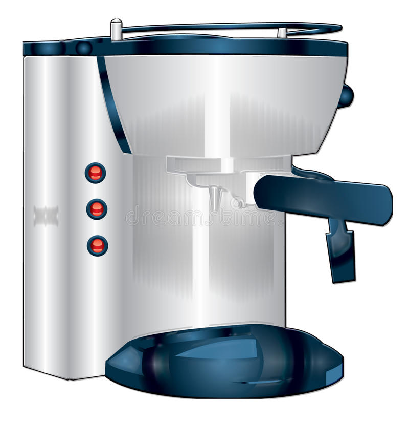 De machine van de espresso royalty-vrije illustratie