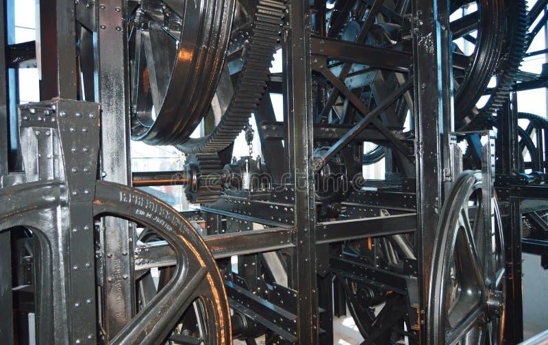 De machine van de gondellift royalty-vrije stock fotografie