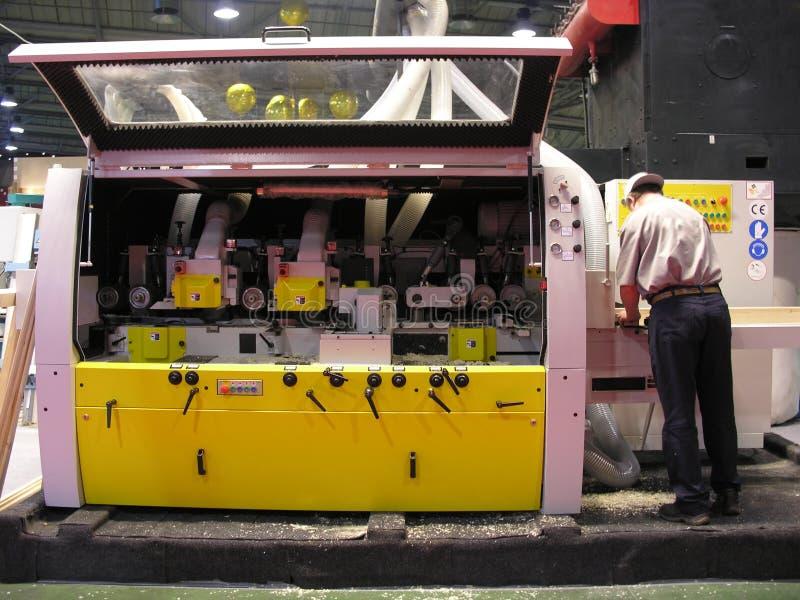 De machine van de houtbewerking royalty-vrije stock foto