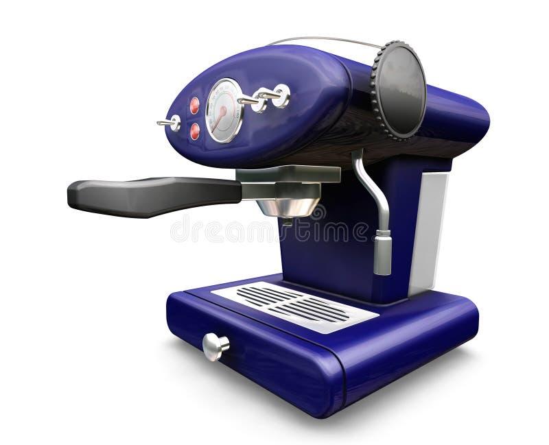 De machine van de koffie royalty-vrije illustratie