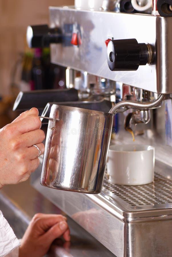 De machine van de koffie stock foto's