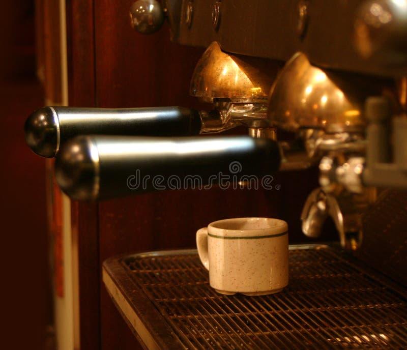 De Machine van de koffie royalty-vrije stock foto's