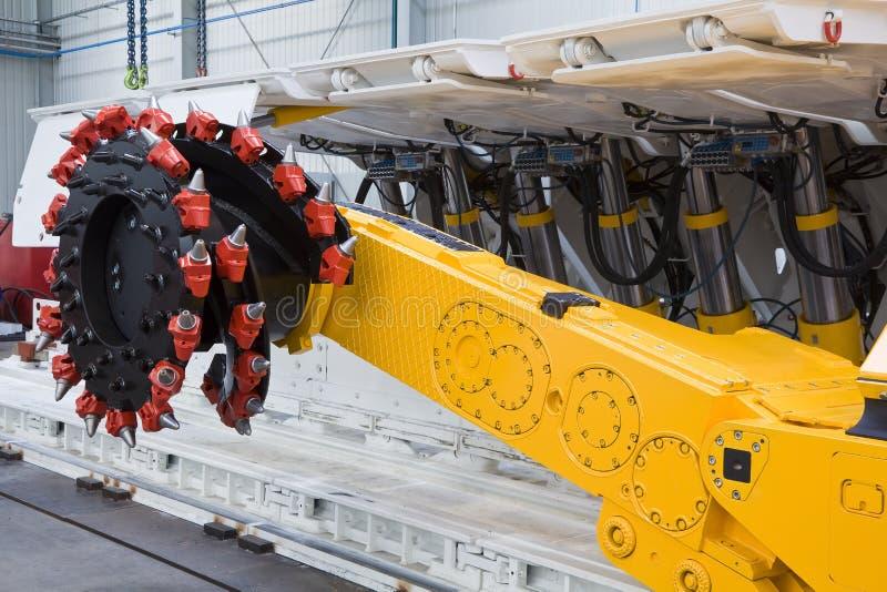 De machine van de mijnbouw royalty-vrije stock afbeeldingen