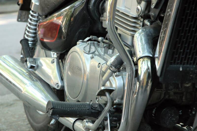 De machine van de motorfiets stock afbeeldingen