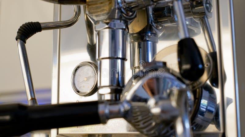De machine van de premiekoffie stock afbeeldingen