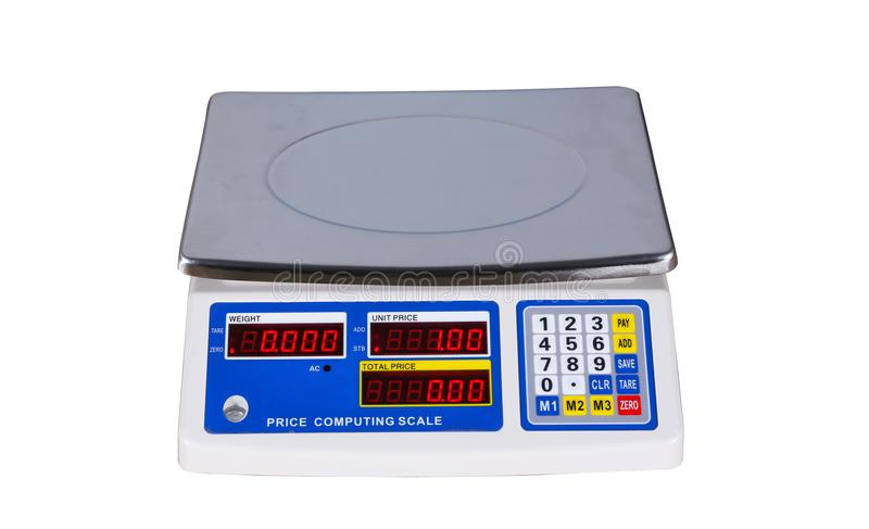 De Machine van het gewicht stock fotografie