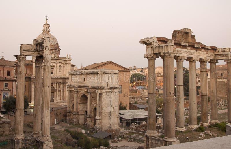 De macht die Rome was royalty-vrije stock afbeeldingen