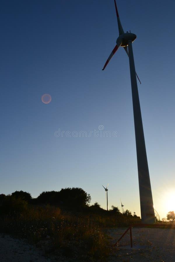 De Macht van de wind royalty-vrije stock foto