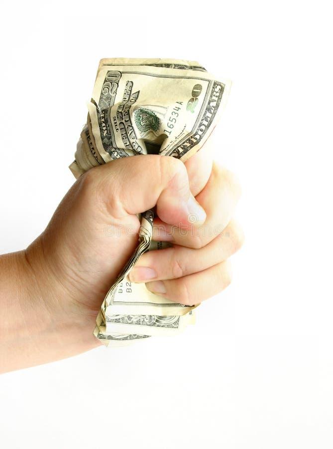 De macht van Geld stock foto's